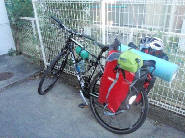 九州〜名古屋自転車旅行で使ったチャリ