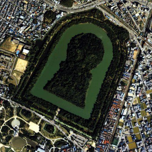 この古墳は世界最大規模とのこと